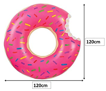 Desconocido Flotador Donut Rosa Gigante