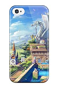Shock-dirt Proof Fantasy Land Case Cover For Iphone 4/4s