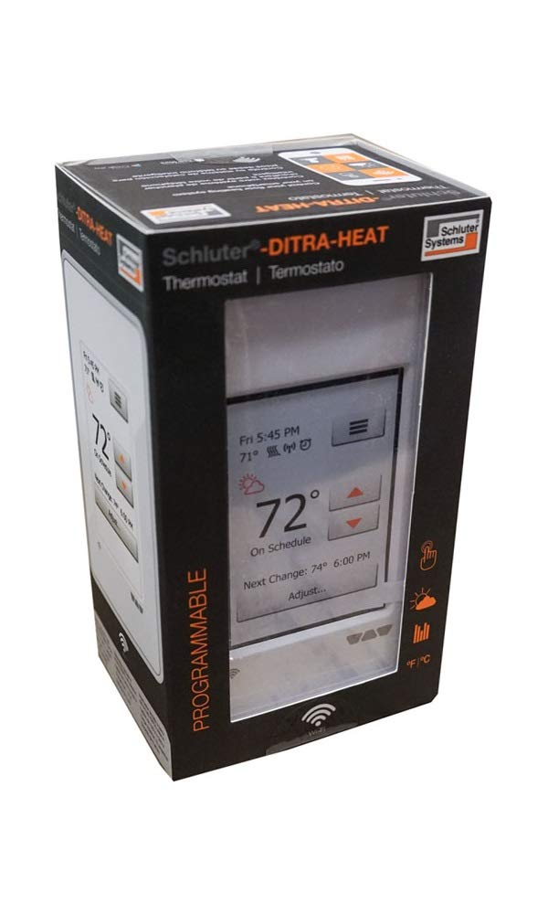 Schluter DITRA-HEAT-E-WiFi Thermostat DHERT104/BW by Schluter