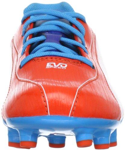 Puma - Botas de deportivo infantil, tamaño 38 UK, color naranja naranja