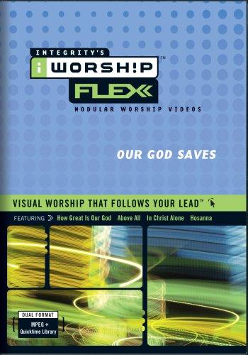 iWorship FLEXX Our God Saves MPEG DVD-Rom Library