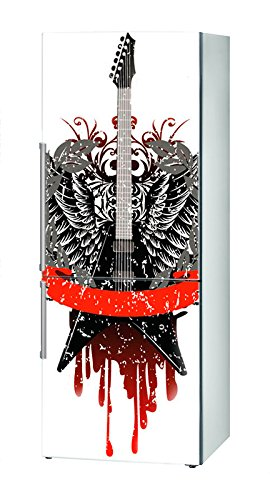 Decusto - Rock & Roll - Adhesivo para Decorar Tu Nevera: Amazon.es ...