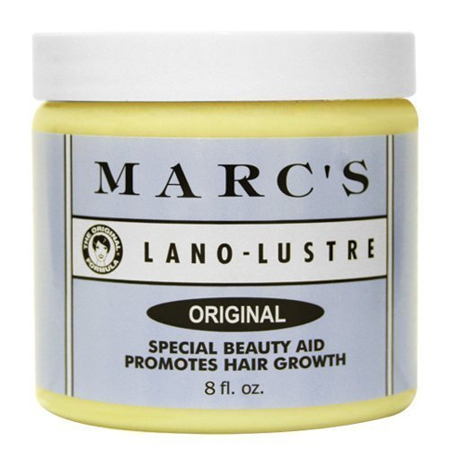 Hair Growth Aid (Marc's Lano-Lustre Original, Special Beauty Aid Promotes Hair Growth 8oz)