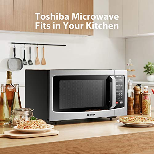 Toshiba-ML-EM45PITSS-Microwave-Oven-with-Origin-Inverter-Technology-LCD-Display-and-Smart-Sensor-16-Cuft-Stainless-Steel