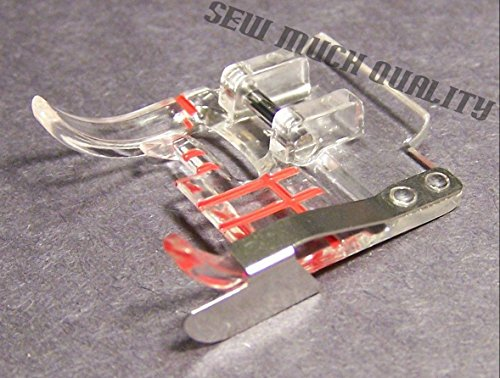 PRESSER FOOT 4130348-45 Clear Seam Guide Genuine Husqvarna Viking Groups 1-7 & D supplier:sew_much_quality by instrainclug