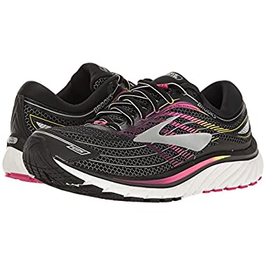 5010c7ccb2 Brooks Women's Glycerin¿ 15 Black/Pink Peacock/Plum Caspia 7.5 ...