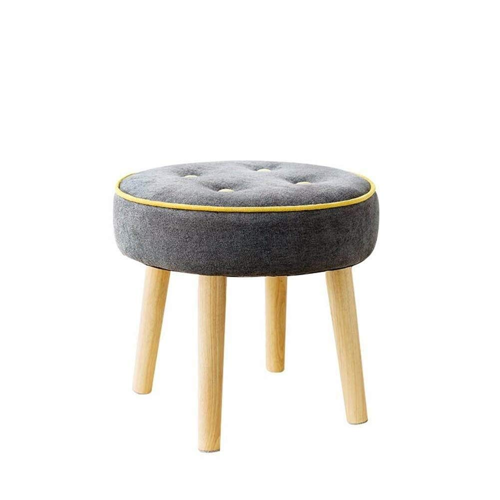 YXLchairs Footstool and Pouffes,Foot Stools,Ottoman Pouffe Chair Stool Fabric Cover,Creative Stool (Color : A)