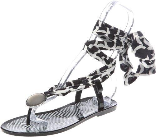Colours of California Infradito jelly con accessorio HC.EJGUYAN - Zapatos para mujer Negro