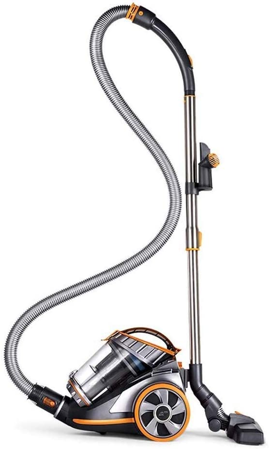 JNWEIYU Stick Vacuum Cleaner Household Powerful High Power Small High Suction Ultra Quiet Vacuum Cleaner, 1700W Strong Suction, Foldable, Adjustable Suction