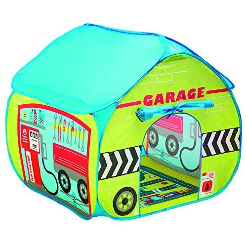 Fun2Give Pop-It-Up Garage Tent with Road Playmat Playhouse by Fun2Give