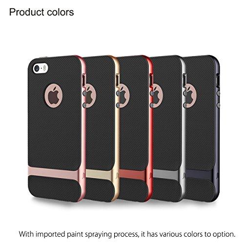 coque iphone 5 5s silicone hybride rock royce bleu