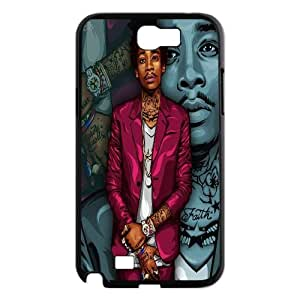 LSQDIY(R) Wiz Khalifa Samsung Galaxy Note 2 N7100 Phone Case, Cheap Samsung Galaxy Note 2 N7100 Hard Back Case Wiz Khalifa