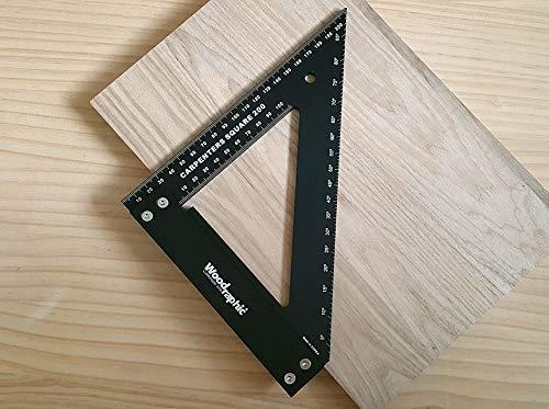 Woodraphic Professional Carpenter Square Layout Tools