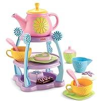 Juego de fiesta de té Sorpresas de Fisher-Price Servin '