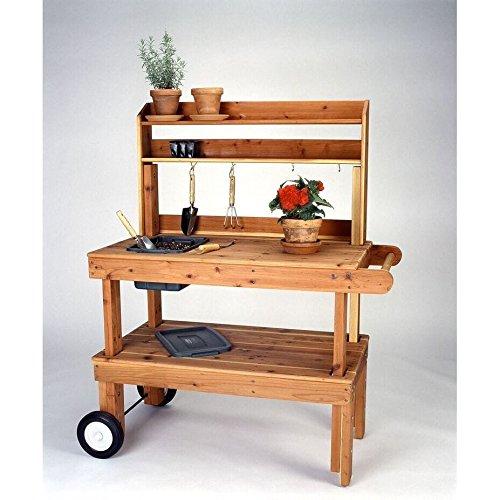 Western Red Cedar Potting Bench - 8