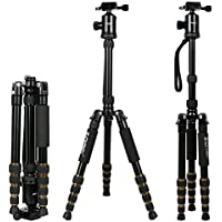 ZOMEi Z669 SLR Camera Tripod with Ball Head and Carrying Case
