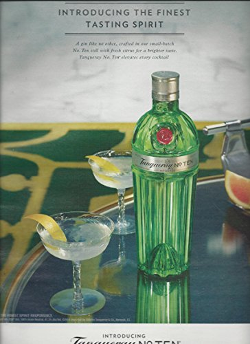 magazine-advertisement-for-2014-tanqueray-no-ten-finest-tasting-spirit