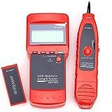 nf-8208Écran LCD Testeur de câble LAN réseau Scanner Fil Longueur du traceur Tracker Testeur