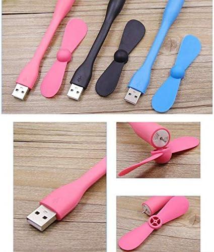Gencifoes Portable Mini Fan Creative Folding Portable Fan Outdoor Portable Small Fan USB Portable Mini Mobile Power Small Fan