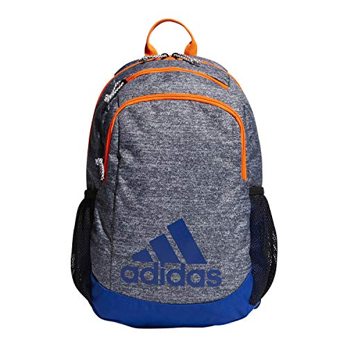 adidas Youth Kids-Boy's/Girl's Young Creator Backpack, Onix Jersey/Col. Royal/Solar Orange, 0 (Best Elementary Schools In Brooklyn)