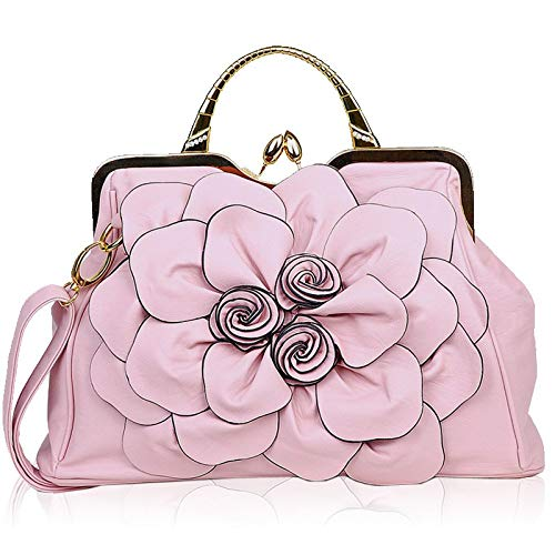 Pink Unica Borse Donna Taglia A Bridge Shopping Da colore Spalla Crossbody Rosered Blue Dimensione Hq46wOg
