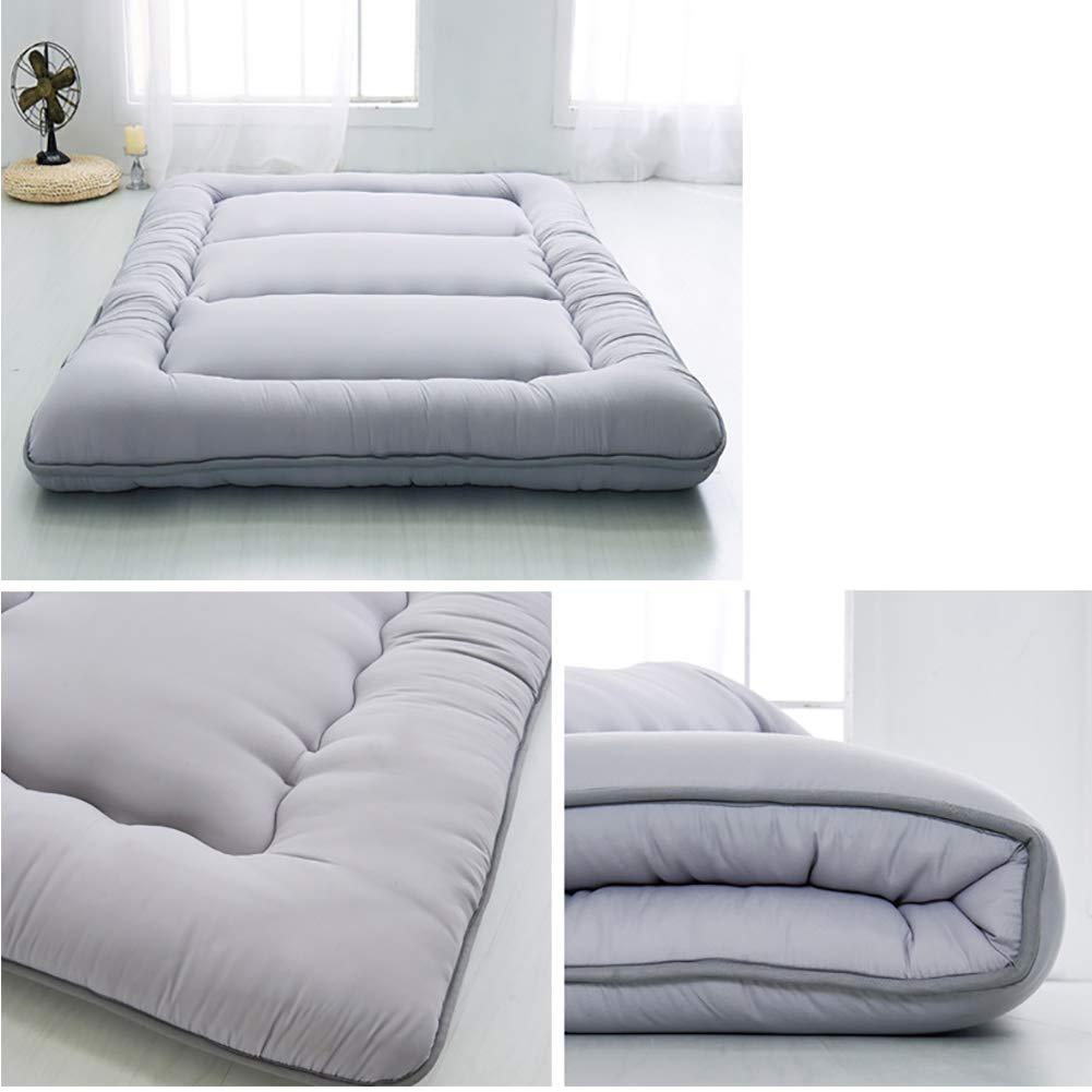 Amazon.com: Wanggang Sleeping Tatami Floor Mat Foldable Futon Tatami Mattress Soft Thick Japanese Student Dormitory Mattress Pad (Color : C, ...