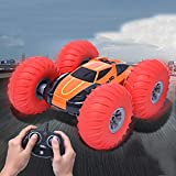 Euone  Valentine Clearance Sale , Kid Off-Road Vehicle Stunt Car Inflatable Tires Remote Control Car 360° Rotating