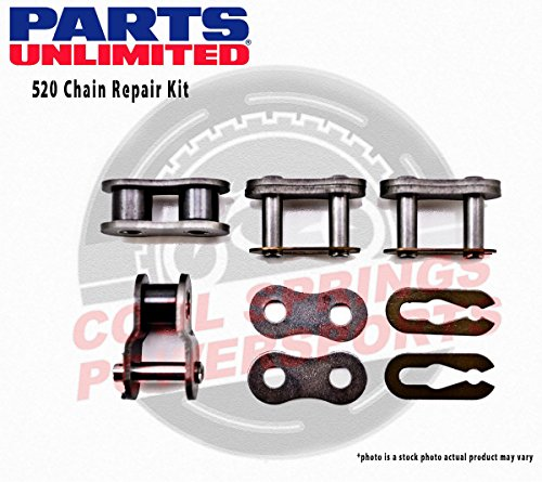 Brand New PAPE, Parts Unlimited 520 Chain Repair Kit Chain Master Link Clips