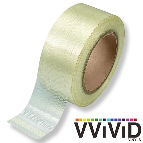 VViViD Professional Grade Fiberglass Reinforces Filament Strapping Tape Roll (3