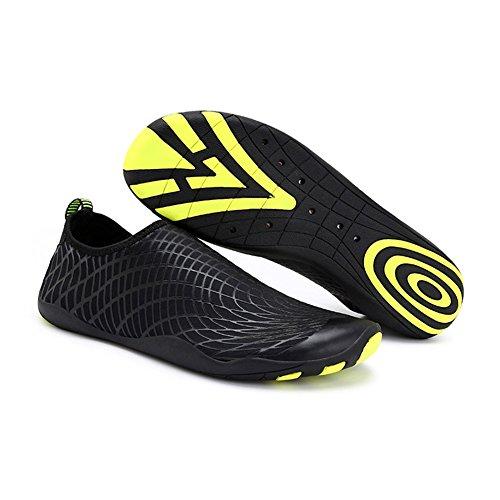 Eagsouni B Calzado Buceo Hombres Yoga de Natación Playa de Calcetines Secado Surf Zapatos Para Rápido Agua Unisex Negro Piscina Mujeres Descalzo de rraxUn1