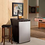 Danby Compact Keg Cooler, Stainless Look