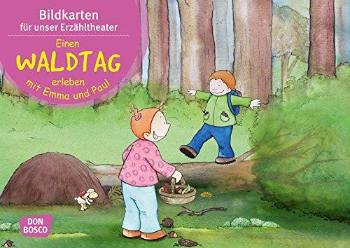 Einen Waldtag erleben mit Emma und Paul. Kamishibai Bildkartenset.: Entdecken. Erzählen. Begreifen: Mit kleinen Kindern durch das Jahr. (Bilderbuchgeschichten für unser Erzähltheater)