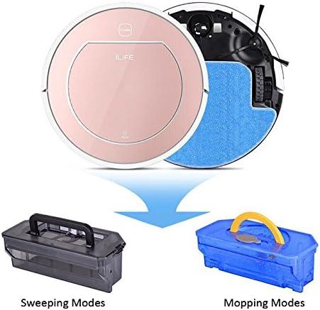 ILIFE V7s Aspirateur Robot Mop et nettoyage à sec Nettoyage ménager avec une puissance plus forte pour tous les types de nettoyage de plancher - Home Robots