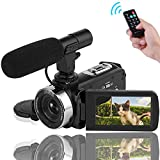 Best Camcorder Under 200s - Video Camera Camcorder 1080P Digital Camera Night Vision Review