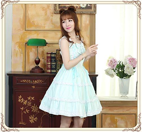 Qaqbdbckl Sweet Tea Magic Floral Jsk Lolita Party Aoweina Dress rrqwgd