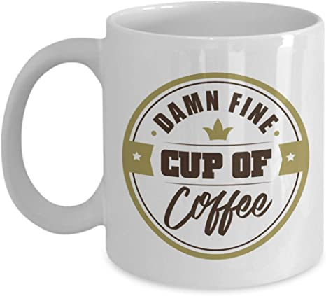 Amazon Com Damn Fine Cup Of Coffee Cool Novelty Tv Show Quotes Ceramic Coffee Tea Mug Decor Ornament Accessories And Office Gag Giftables For Coffee Drinker Lover Or Addict Men Women