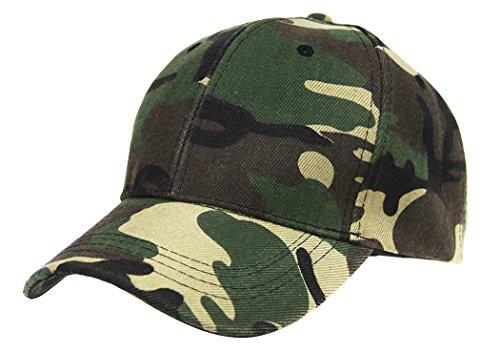 Women adjustable Camo baseball Hats(Army Green) - 6