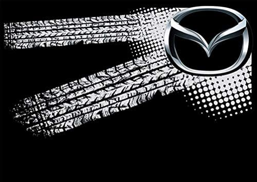 Noir Taille Unique k056 molda184 Mazda Auto Logo Car Casquette de Baseball