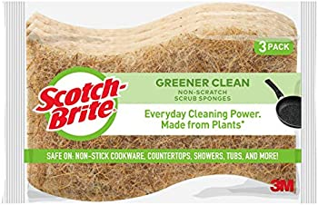 Scotch-Brite Greener Clean Non-Scratch 3-Count Scrub Sponges