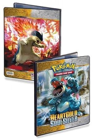 Cartas de Pokémon edición heartgold Soul Silver A4 álbum ...