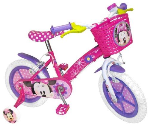 Stamp C863806 Bicicletta Minnie Bowtique 12 Con Cestino Anteriore Campanello