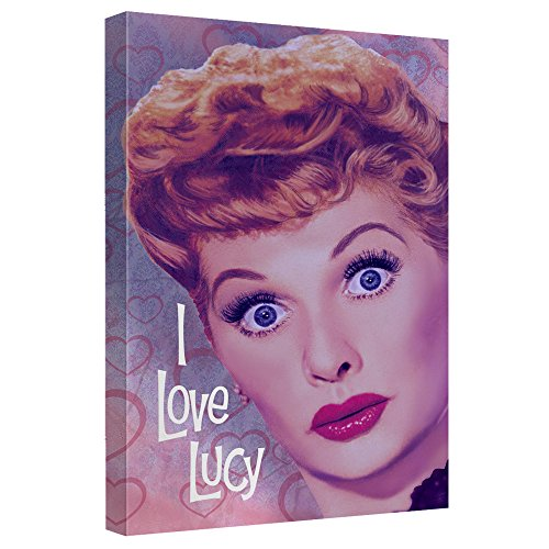 I Love Lucy Canvas Wall Art