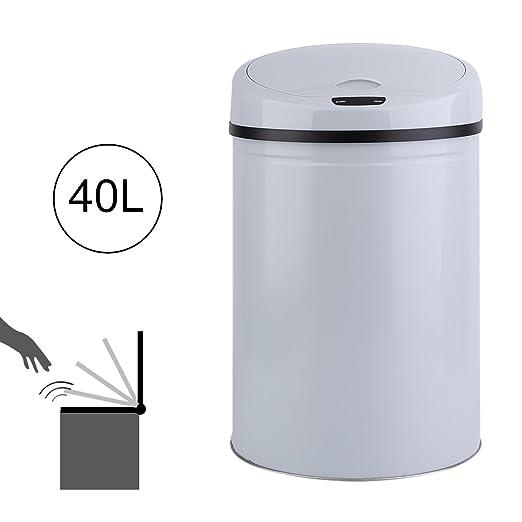 Sensor infrarrojo Cubo de basura automático Cubo de basura ...