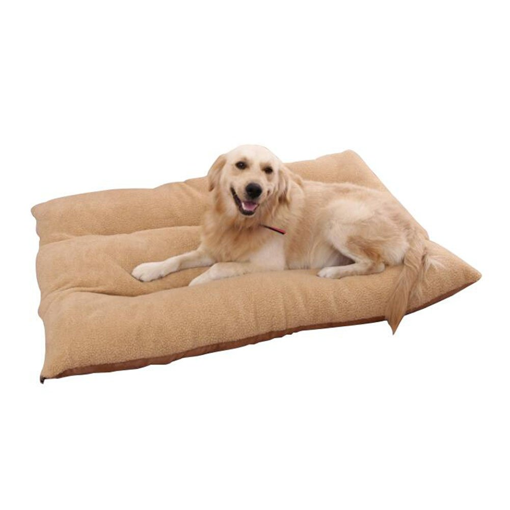 M Pet supplies Pet mat-Pet fossa Kennel Cat Nest Small Dog Bed Dog Cushion Pet Waterloo Washable mprove sleep and carry (Size   M)