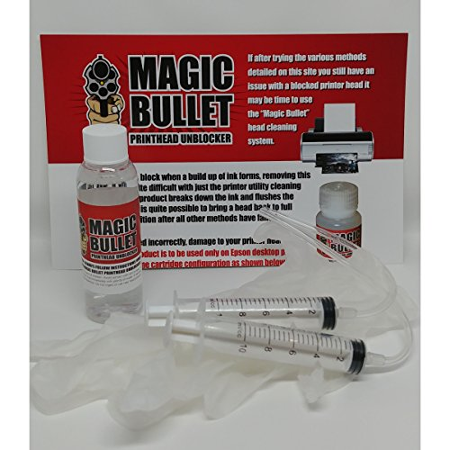 Magic Bullet Print Head Cleaner and Unblocker Kit ()