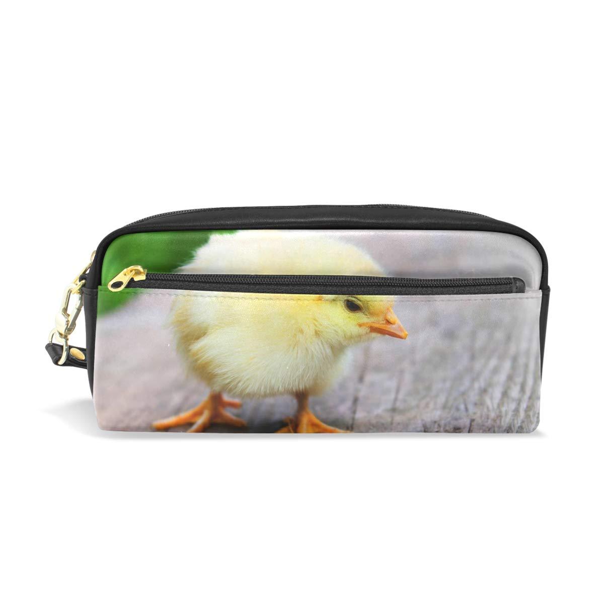 FAJRO - Estuche para lápices, diseño de pollito de Pascua