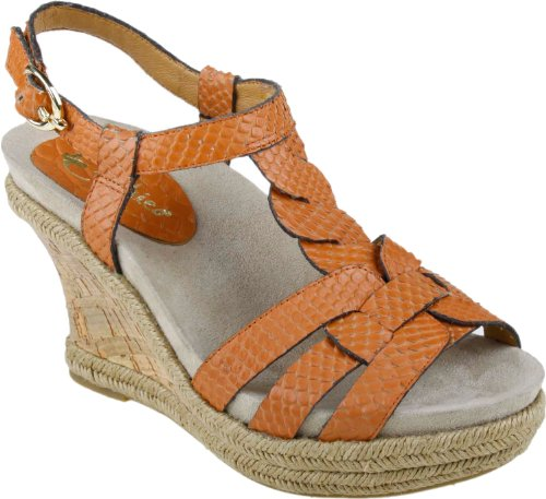 Earthies Women's Corsica Sandal,Spice,8.5 M US (Animal That Starts With M)