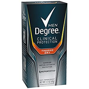 Degree Men Clinical Antiperspirant, Thermo Dry 1.7 oz
