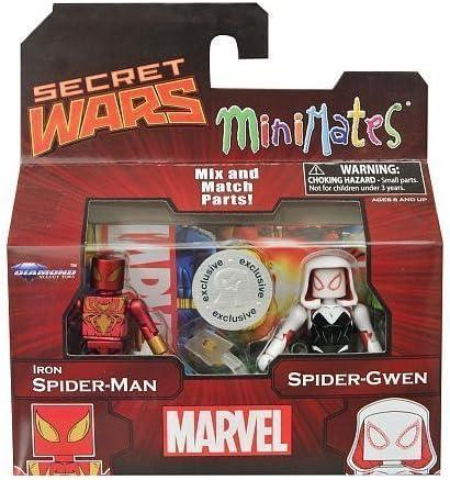"""MINIMATES MARVEL /""""Iron Spider-Man et Spider-gwen/"""""""