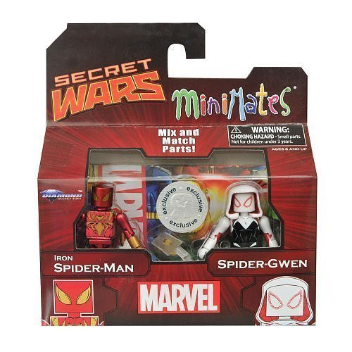 Marvel Minimates Iron Spiderman & Spider-Gwen by - Minimates Iron Spider